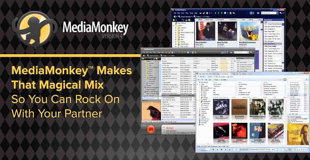 MediaMonkey™ Makes That Magical Mix So You Can Rock On With Your Partner