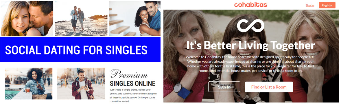Dating Pro client website examples