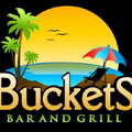 Buckets Bar and Grill Logo