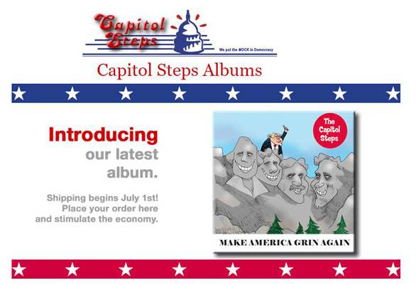 Photo of the Capitol Steps 2018 album