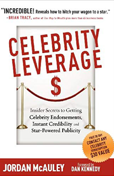 Cover of Celebrity Leverage by Jordan McAuley