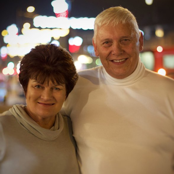 Photo of Richard and Penny, the first success story for Old Style Dating