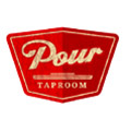 Pour Taproom: Durham Logo