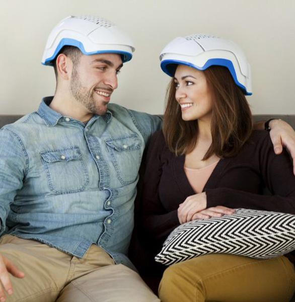 Photo of a couple using Theradome