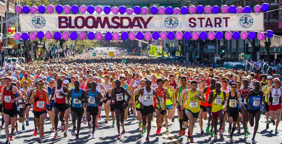 Photo of the Lilac Bloomsday Run