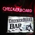 Checkerboard Bar Logo
