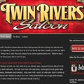 Twin Rivers Saloon Logo