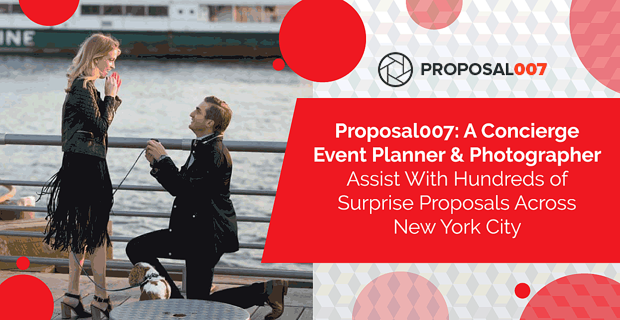 Proposal007: A Concierge Event Planner & Photographer Assist With Hundreds of Surprise Proposals Across New York City