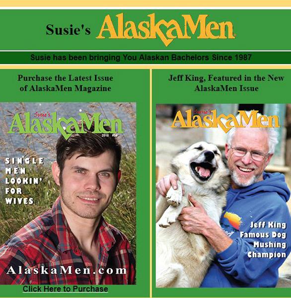Screenshot from Alaska Men's website