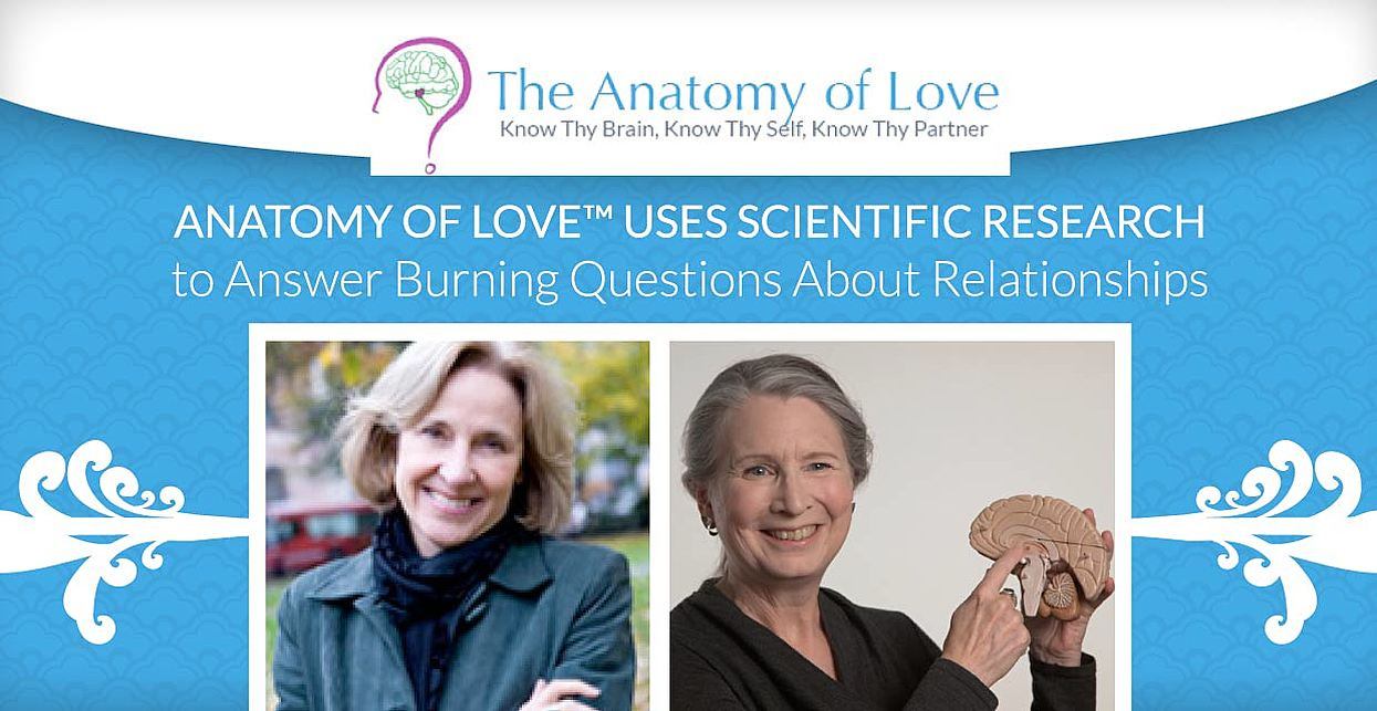 Anatomy Of Love™ Uses Scientific Research to Answer Burning Questions About Relationships