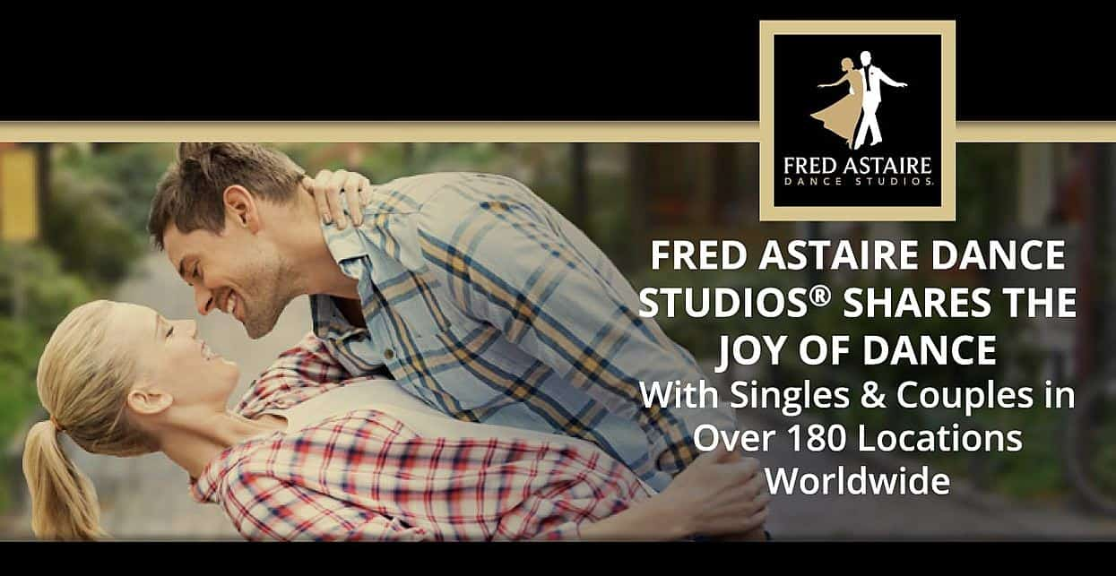 Fred Astaire Dance Studios® Shares the Joy of Dance With Singles & Couples in Over 180 Locations Worldwide