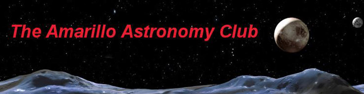 The Amarillo Astronomy Club logo