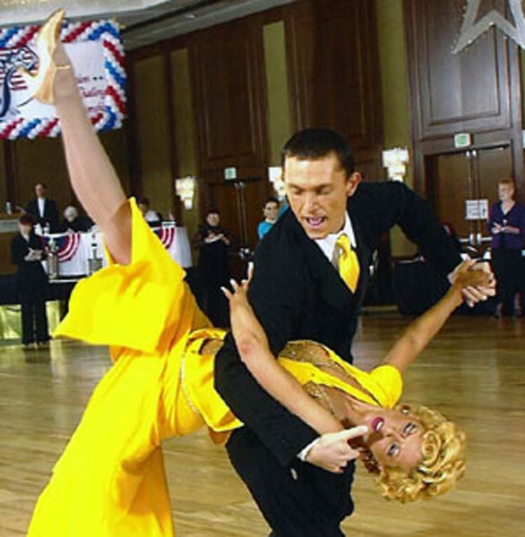 Photo of two dancers at FADS