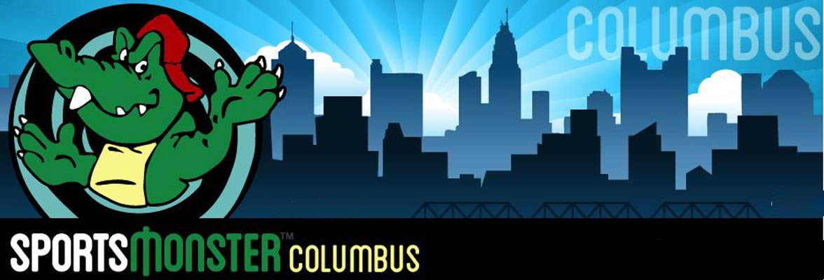 The Sports Monster Columbus logo