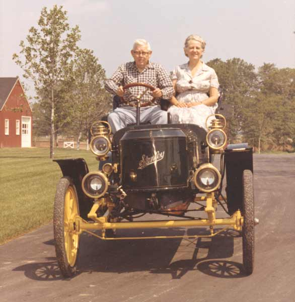 Photo of Donald and Genevieve Gilmore, Founders of the Gilmore Car Museum