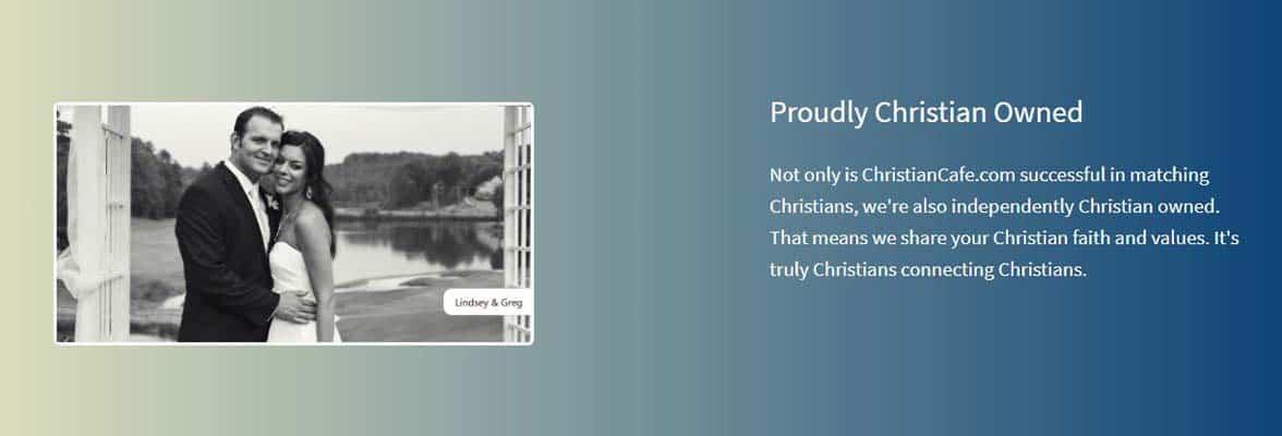 Screenshot of ChristianCafe