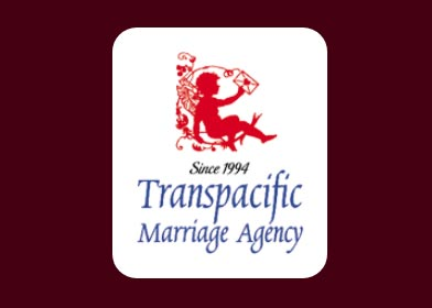 Screenshot of Transpacific the Marriage Agency logo