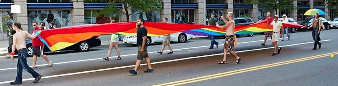 Photo of the Pride Parade in Dayton