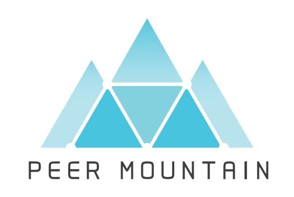 The Peer Mountain logo