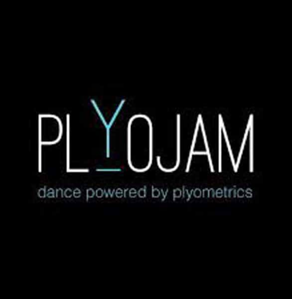 The PlyoJam logo