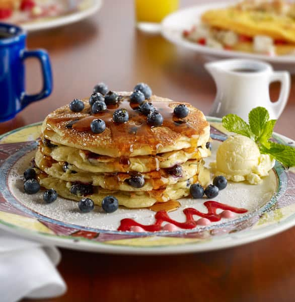 Photo of Miss Shirley's Blueberry Pancakes