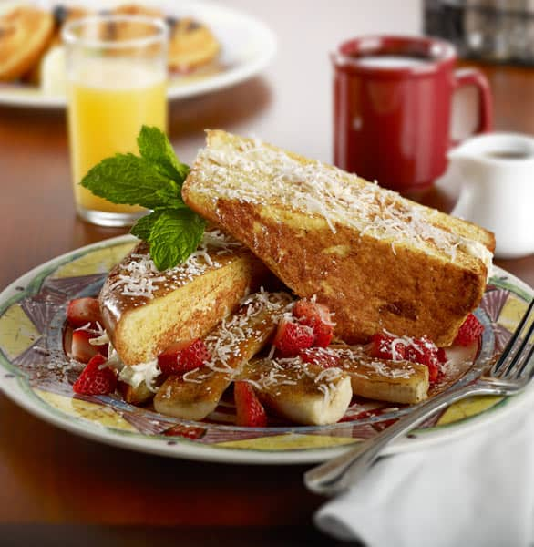Photo of Coconut Cream Cheese Stuffed French Toast