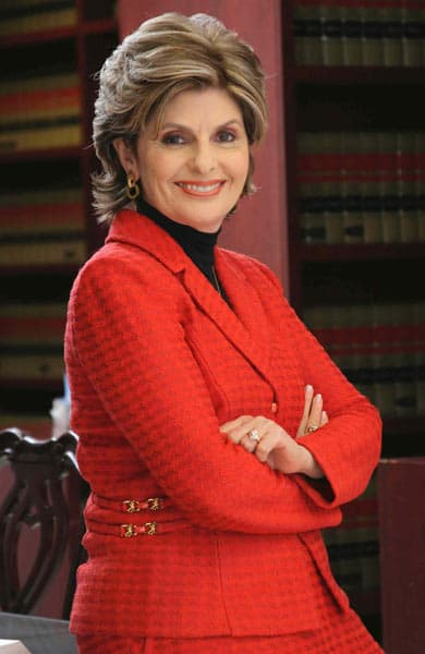 Photo of Gloria Allred, a celebrity attorney