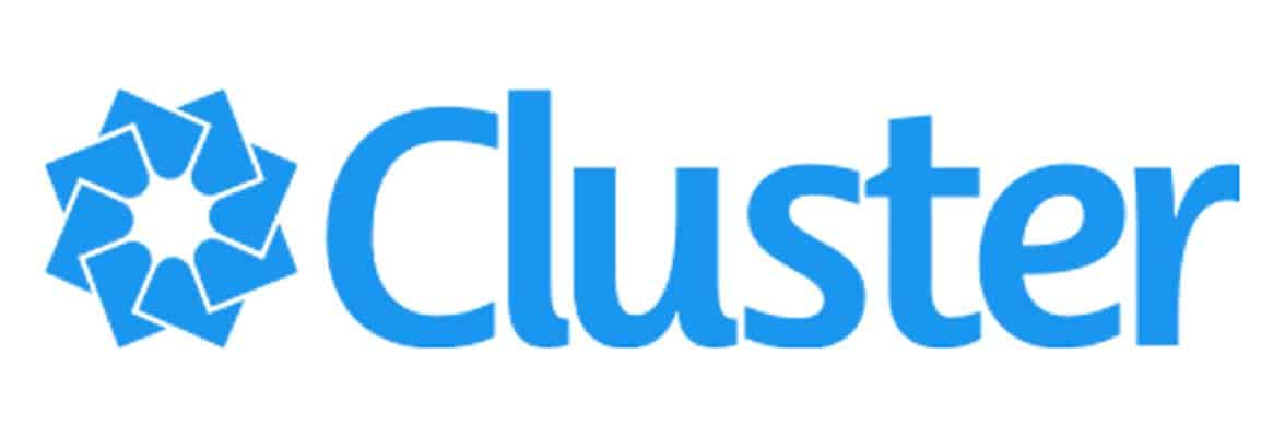 The Cluster logo