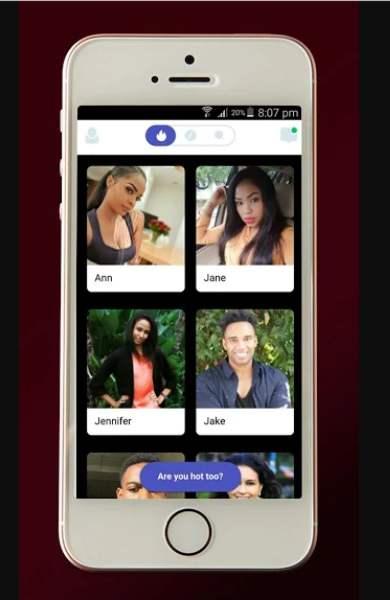 Screenshot of Flirt Naija