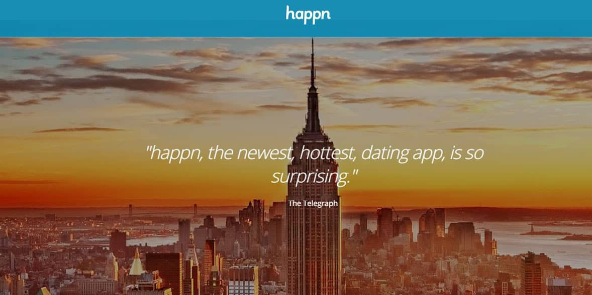 Screenshot of Happn