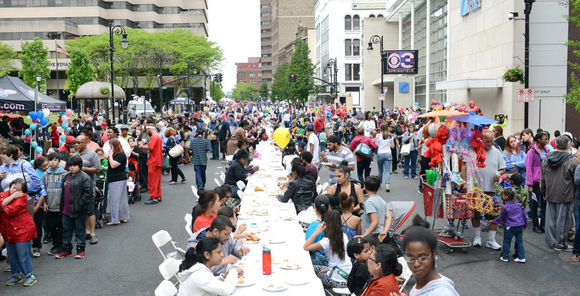 Photo of the World's Largest Pancake Breakfast