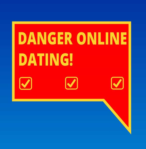 Photo of online dating danger