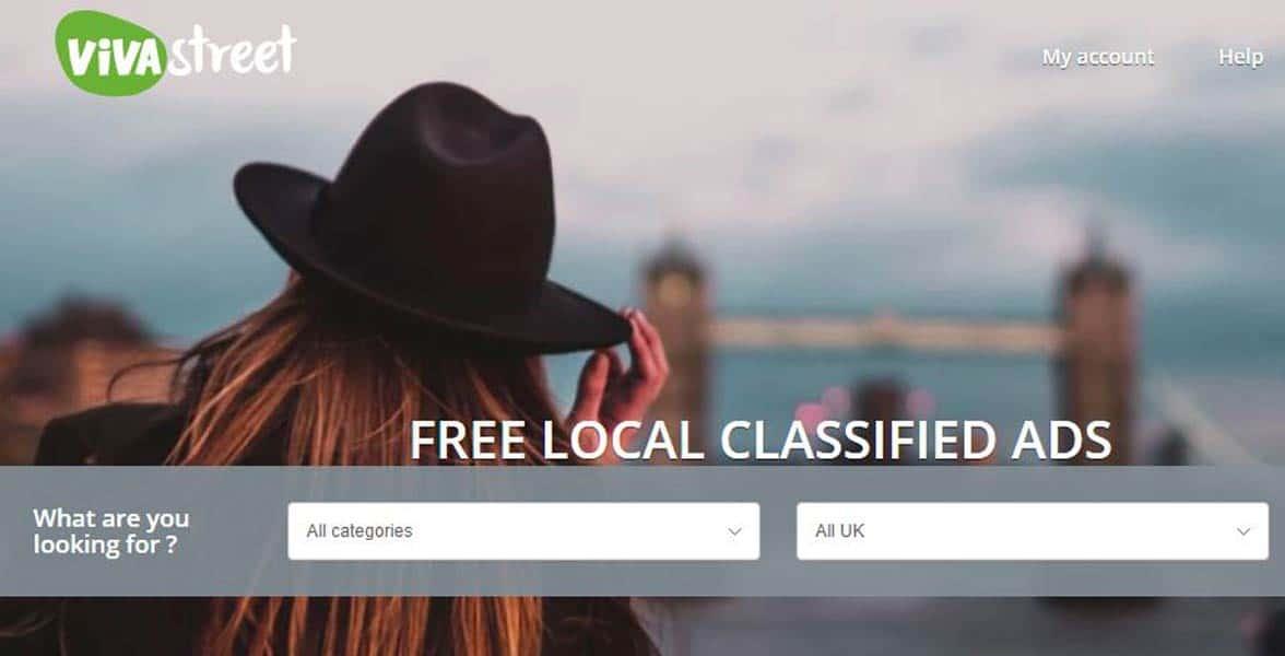 Screenshot of Vivastreet