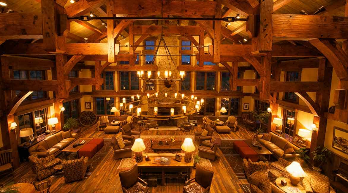 Photo of the Vista Verde Guest Ranch main lodge