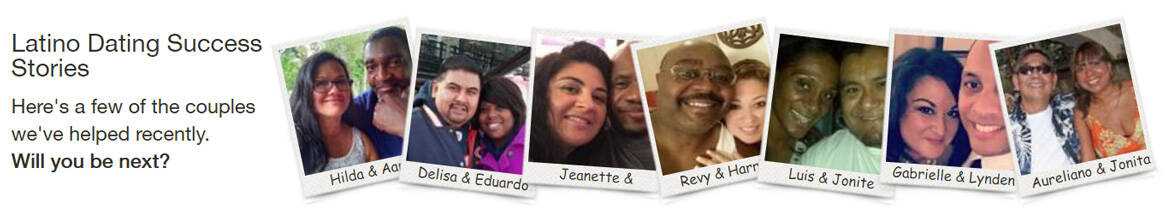 Screenshot of LatinoLicious success stories