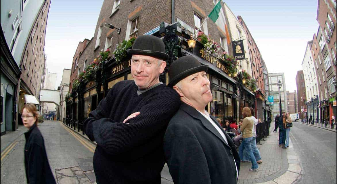 Photo of Dublin Literary Pub Crawl Owner Colm Quilligan