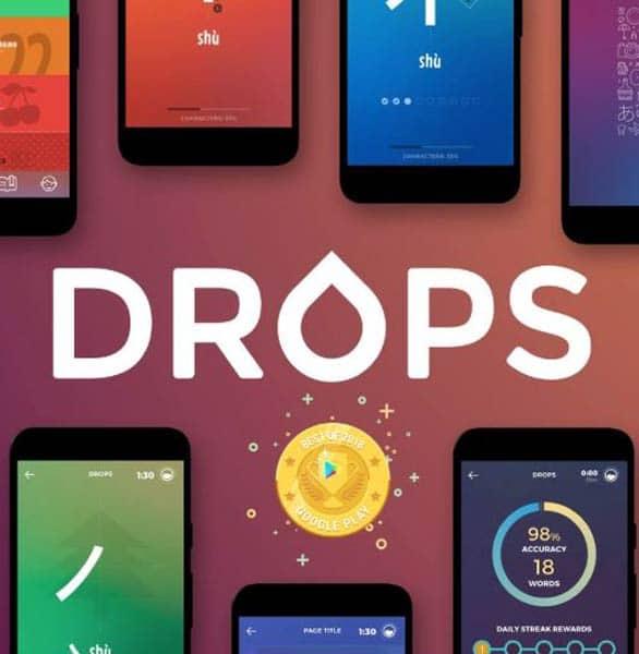 The Drops logo