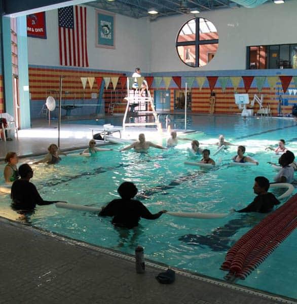 Photo of Chinquapin Park's water aerobics class