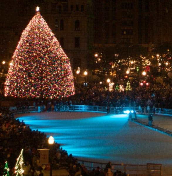Photo of Clifford Square's ice rink