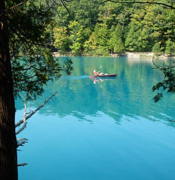 Photo of Green Lakes State Park