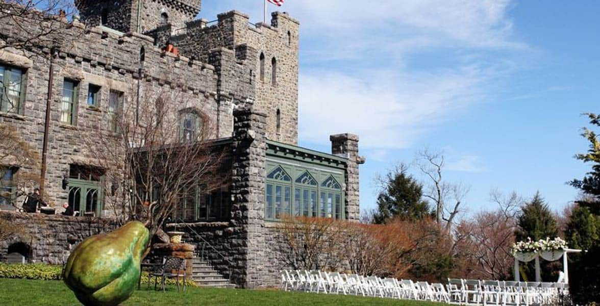 Photo of a wedding at Castle Hotel
