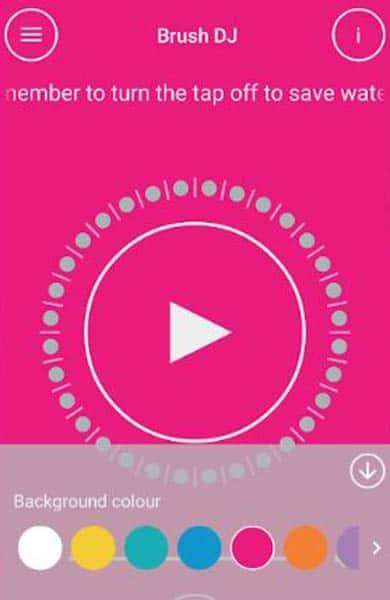 Screenshot of Brush DJ