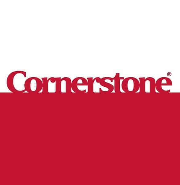 The Cornerstone logo