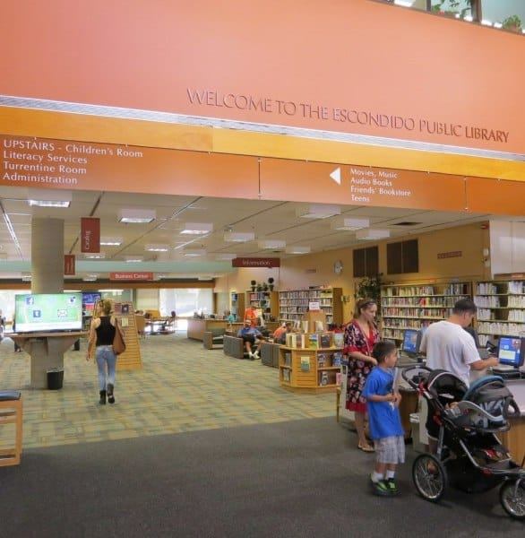Photo of the Escondido Public Library