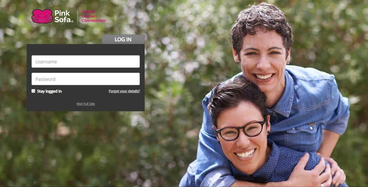 Screenshot of PinkSofa