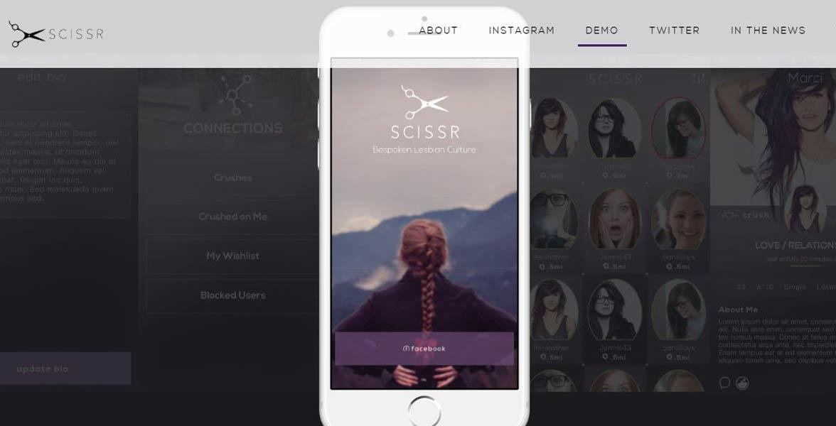 Screenshot of Scissr