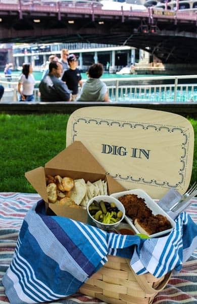 Photo of Hotel Monaco's picnic package