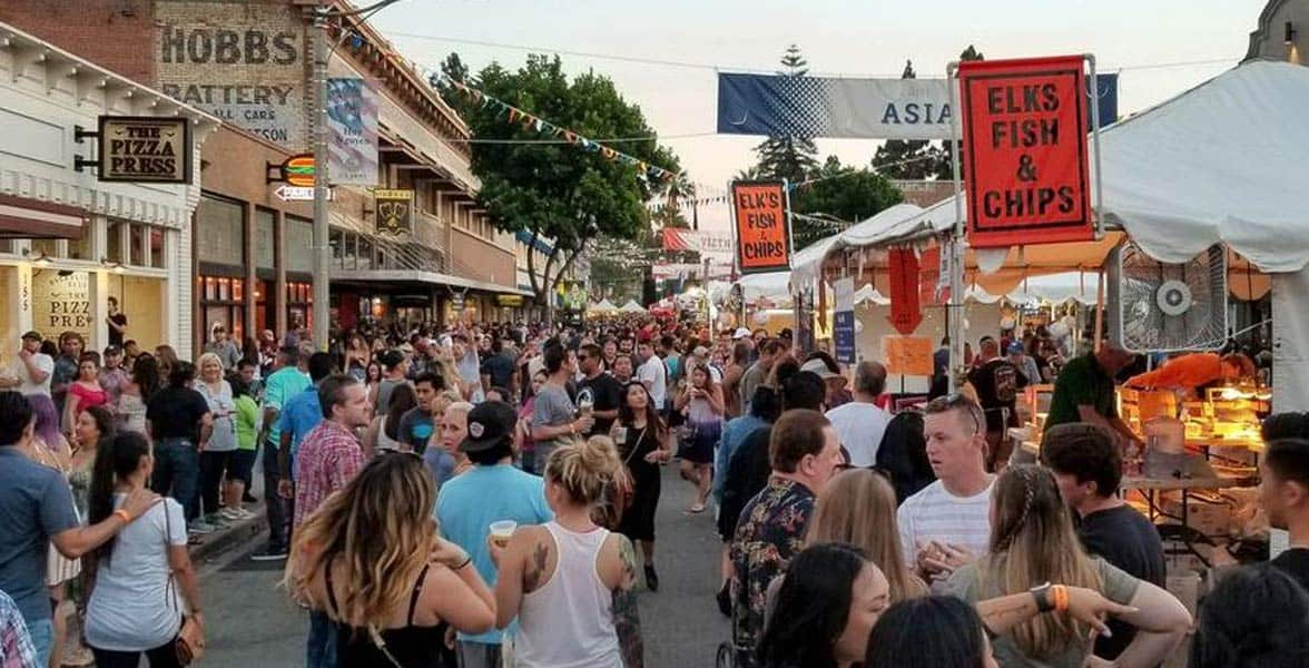 Photo of the Orange International Street Fair