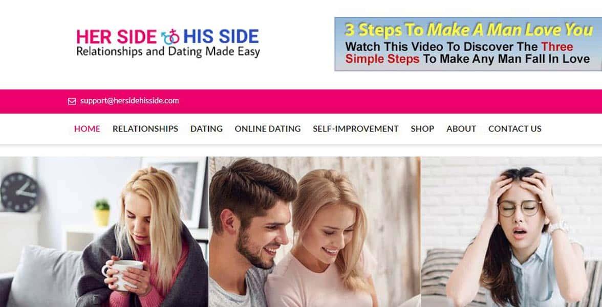 Screenshot of HerSideHisSide.com