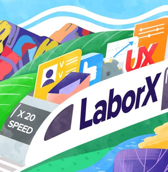 A LaborX graphic